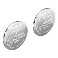 Rayovac CR2032 3 Volt Lithium Coin Cell Battery - 2 Pack