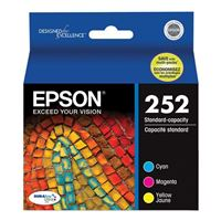 Epson 252 Standard Color Ink Cartridge Multi Pack