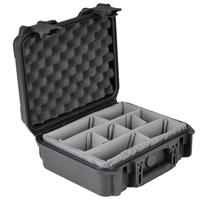 "SKB Corporation Military-Standard Case 4"" Deep with Padded Dividers"