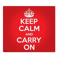 "Microthin Products WOW!PAD Mouse Pad ""Keep Calm and Carry On"""