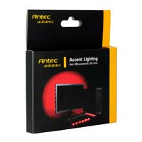Antec Red Accent Lighting USB-Powered LED Strip