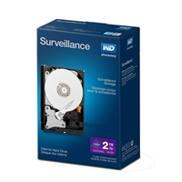 "WD Purple Surveillance 2TB 5400RPM SATA III 6Gb/s 3.5"" Internal Hard Drive"