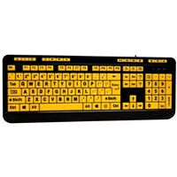Adesso AKB132UY Wired Desktop Keyboard