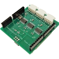 Robogaia Industries 3 Axis Encoder Counter Arduino Shield