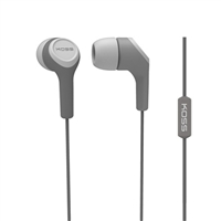 Koss KEB15i Stereo Earbuds - Gray