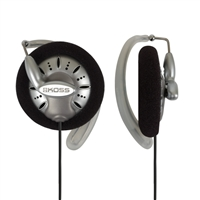 Koss KSC75 Ear Clip Earphones - Silver/Black