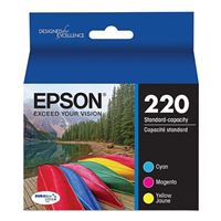 Epson 220 Color Ink Cartridge Multi-Pack