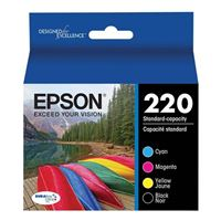 Epson 220 Black and Color Ink Cartridge Combo Pack