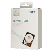 "HGST Travelstar 1TB 5400RPM SATA III 6.0Gb/s 2.5"" Internal Hard Drive"