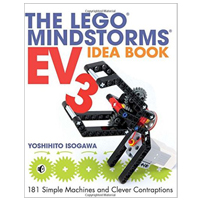No Starch Press The LEGO MINDSTORMS EV3 Idea Book: 181 Simple Machines and Clever Contraptions, 1st Edition