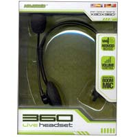 Komodo Headset w/ Mic for Xbox 360