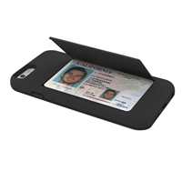 Incipio Technologies STOWAWAY Credit Card Case w/ Kickstand for iPhone 6 - Black
