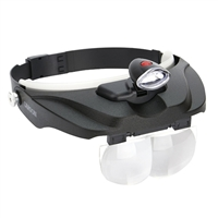 Carson Optical MagniVisor Deluxe LED Head Visor CP-60