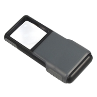 Carson Optical MiniBrite 5X LED Lighted Slide Out Magnifier
