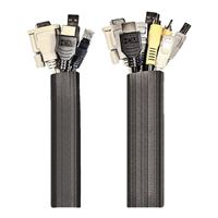UT Wire 12Ft. Flexi Cable Wrap Black