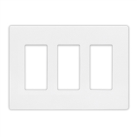 Insteon Triple Wall Plate - White
