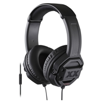 JVC Xtreme Xplosive Over-Ear Headphones w/ Remote & Microphone - Black