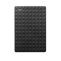 "Seagate Expansion 2TB USB 3.1 (Gen 1 Type-A) 2.5"" Portable External Hard Drive - Black"
