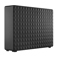 "Seagate Expansion 3TB USB 3.0 3.5"" Desktop External Hard Drive - Black"