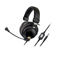 Audio-Technica ATH-PG1 Closed-Back Gaming Headset - Black