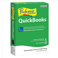 Individual Software Professor Teaches QuickBooks (PC)