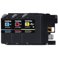 Brother LC101 Color Ink Cartridge Value Pack