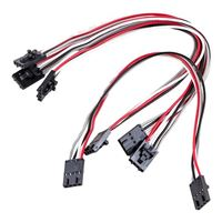 "Leo Sales Ltd. Arduino Compatible 4-Pin/I2C Connector, 8"" Cable (Pack of 4)"