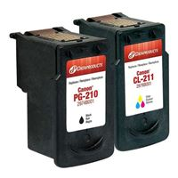 Dataproducts Remanufactured Canon PG210/CL211 Ink Cartridge Combo Pack
