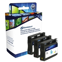 Dataproducts Remanufactured HP 933 Color Ink Cartridge Multi Pack