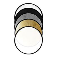 Savage 5-in-1 Collapsible Circular Reflector Disc - 43""