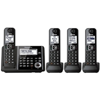 Panasonic DECT 6.0 Cordless Phone with answering system and 3 additional handsets