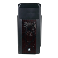Corsair Carbide SPEC-02 Redshift Special Edition ATX Mid-Tower Computer Case - Black