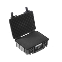 B&W International Type 1000 Outdoor Case with SI Foam - Black