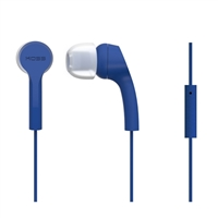 Koss KEB9iB Noise Isolating Ear-Buds w/ In-Line Microphone - Blue