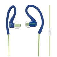 Koss KSC32iB In-Ear FitClips w/ Microphone - Blue