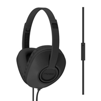 Koss UR23iK Full Size Over Ear Headphones w/ Microphone - Black