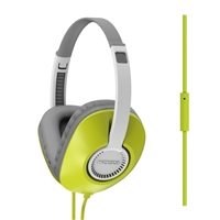 Koss UR23iG Full Size Over Ear Headphones w/ Microphone - Green