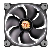 Thermaltake Riing 12 High Static Pressure White LED Hydraulic Bearing 120mm Case Fan