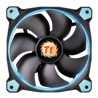 Thermaltake Riing 12 High Static Pressure Blue LED 120mm Hydraulic Bearing Case Fan