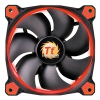 Thermaltake Riing 14 High Static Pressure Red LED Hydraulic Bearing 140mm Case Fan