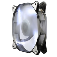 H.E.C. Cougar CFD14HBW White LED Hydraulic Bearing 140mm Case Fan