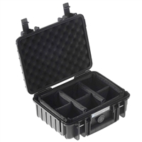 B&W International Type 1000 Outdoor Case with RPD Insert - Black