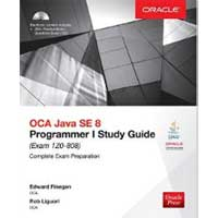 McGraw-Hill OCA Java SE 8 Programmer I Study Guide: Exam 1Z0-808, 3rd Edition