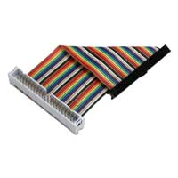 "QVS 4"" GPIO Ribbon Extension Cable for Raspberry Pi A/B/Pi 2 (40 Pins)"