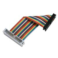 "QVS 8"" GPIO Ribbon Extension Cable for Raspberry Pi A/B (26 Pins)"