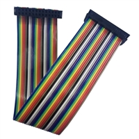 "QVS 4"" GPIO Ribbon Cable for Raspberry Pi A/B (26 Pins)"
