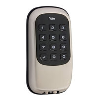 Yale Keyless Entry Push Button Dead Bolt - Satin Nickel
