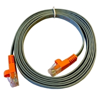 Laplink Software 7 Ft. CAT 5e Flat Ethernet Cable - Gray