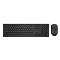Dell KM636 Wireless Keyboard & Mouse Combo - Black