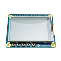 "Element 14 2.4"" Touchscreen LCD Hat"